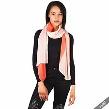 Womens Ladies Soft Crinkle Wafer Pleated Wide Long Scarf Shawl Wrap Cover Up