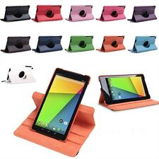 360 Rotating PU Leather Case Stand Cover for Google Nexus 7 FHD 2nd Gen