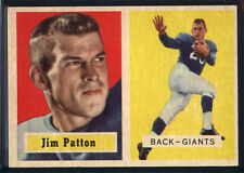 1957 Topps #83 Jim Patton RC - NM *049-686