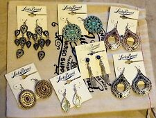 Lucky Brand Semi-Precious Stone Earrings Pick From Many New Styles New on Card
