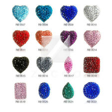 15/30/50pcs Flatback Cabochon Imitation Diamond Embellishments BFRB0507-RB0516