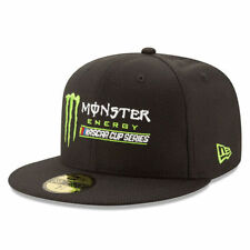 New Era Monster Energy NASCAR Cup Series 59FIFTY Fitted Hat - Black - NASCAR