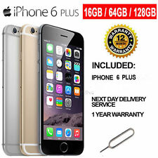 Apple iPhone 6 Plus 64GB Factory Unlocked Space Gray Silver Gold AT&T T-Mobile S