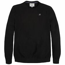 Pepe Jeans London Knitted Jumper men new Size S / L black uni