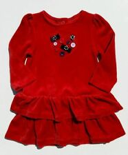 NWT Gymboree Girls Winter Penguin Heart Button Bow Dress Size 3-6-12-18-24 M 2T