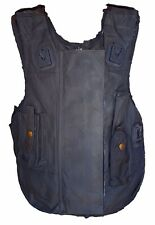 Male Global Ballistic Armour Body Stab Spike Vest Black Ex Police !!COVER ONLY!!