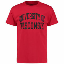 Wisconsin Badgers Champion University T-Shirt - Red - NCAA