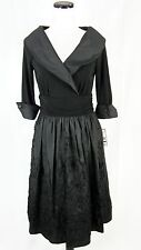 Jessica Howard Dress size 8 Black Formal Wedding Cocktail Evening Modest