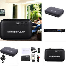 Full HD 1080p MKV HDD HDMI Media Player Center USB  SD AV TV AVI RMVB