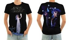 STEVIE NICKS - BELLA DONNA - ALL OVER FRONT & BACK LP COVER POLY/COTTON T-SHIRT