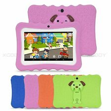 7'' inch Quad Core HD Tablet for Kids Android 4.4 Dual Camera WiFi Children HD