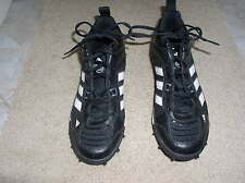 Adidas Men's Black Leather and Patton Leather size 11 Football Cleats