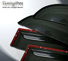 4pcs Out-Channel 2mm Sun Rain Guard Deflector Visor Mazda CX-7 CX7 2007-2009