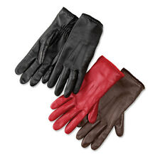 Orvis Leather/Cashmere Tech Touch Gloves