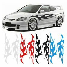 Flame Auto Graphic Decal Flaming Body Car Truck Vinyl Flames v100 Large 12*48''
