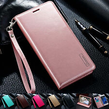 Luxury PU Leather Case Magnetic Wallet Card Flip Stand Cover For Samsung/iPhone