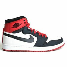 AIR JORDAN 1 RETRO AJKO HI WHITE 2012 BLACK VARSITY RED NIKE MEN'S DS 402297-110