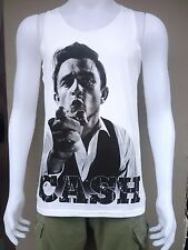 Johnny Cash Country Rock Blues Band Sexy Men Tank Tops T-Shirt Singlet Size M L