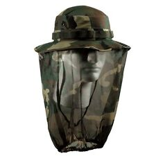 Ultra Force Camo Boonie Hat With Camo Mosquito Netting