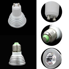 GU10 E27 3W RGB Led Bulb Light Spot Lamp+24 Keys Remote Control 85-265V