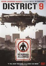 DISTRICT 9 USED - VERY GOOD DVD