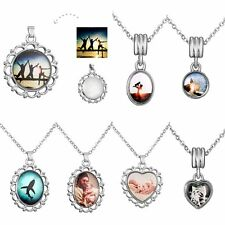 Keep Memory Custom Epoxy Pendent Necklace Jewelry Family Friend Birthday Gift