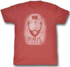Mr T 1980s TV Show The A Team Beards They Grow On You Adult T Shirt