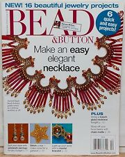 Bead & Button magazine beading patterns diagrams instructions