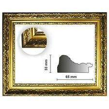 Baroque frame gold fine decorated 840 Oro, Gold Frame, Picture Frame Gold