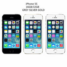 Apple iPhone 5s 16 64GB Factory Unlocked AT&T T-Mobile - Space Gray Silver Gold
