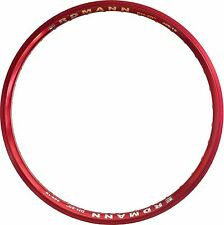 20 Inch Rim Erdmann DH 20 red with eyelets 32 / 36-hole V-Brake and Disc