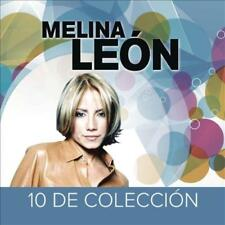 MELINA LE¢N - 10 DE COLECCI¢N USED - VERY GOOD CD