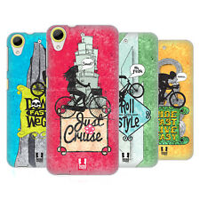 HEAD CASE DESIGNS BICYCLE LOVE HARD BACK CASE FOR HTC DESIRE 650