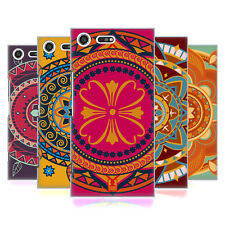 HEAD CASE DESIGNS INDIAN MONOGRAMS HARD BACK CASE FOR SONY XPERIA XZ PREMIUM