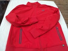 NWT New Balance lined tennis jacket, mens XXL red, polyester