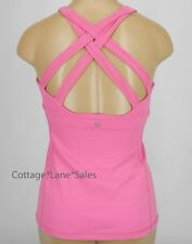 NEW LULULEMON Enhearten Tank Top 2 4 6 Pink Paradise Yoga Gym NWT FREE SHIP