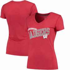 Wisconsin Badgers Champion Women's Achievement T-Shirt - Red - NCAA
