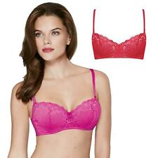 Wonderbra Refined Glamour Balconette Bra Pink or Red 32 To 38 A To G