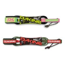 "Dakine Surf leash - Kainui Pro Comp 6' X 3/16"" - Board leash Army Red Lime Pink"