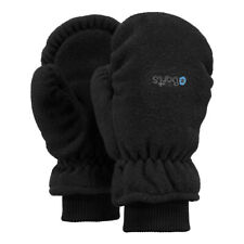 Barts Fleece Mitts Gloves Children Warm Mittens Girls Boys Black
