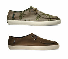 Vans Shoes - Rata Vulc Palm Leaf Stone Grey - Casual Beach Deck Trainer