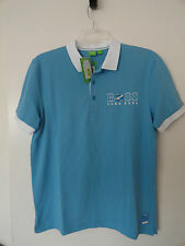 "NWT HUGO BOSS SOCCER WORLD CUP ""PADDY FLAG"" ARGENTINA POLO SHIRT MODERN FIT BLUE"