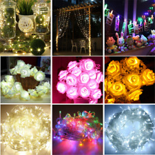 Beautiful LED String Lights Home Garden Fairy Lamp Party Decor Warm White New