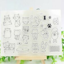 Clear Stamp Seal Sheet