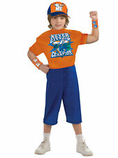 John Cena Wrestling WWE Deluxe Muscle Sport Never Give Up Boys Costume