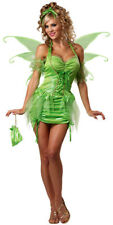 Tinkerbell Tinker Bell Fairy Sprite Pixie Deluxe Women Costume