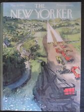 The New Yorker Magazine May 21, 1960 Road Building by Arthur Getz