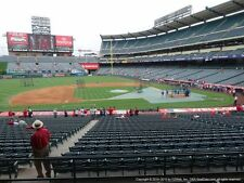 2 TICKETS CLEVELAND INDIANS @ LA ANGELS 9/19 *TERRACE MVP FRONT ROW*