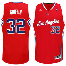 Blake Griffin LA Clippers adidas Youth Swingman Away Jersey - Red - NBA