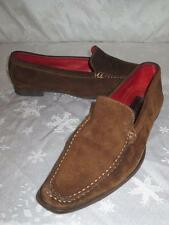 COACH Womens DELAYNE Chestnut BROWN SUEDE Shoes LOAFERS Flats Size 7.5 B